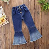 MODNTOGA Little Kids Baby Girl's Vintage Jeans