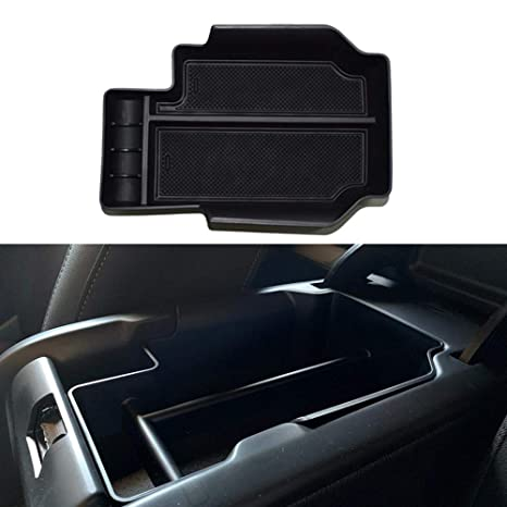 For Chevy Colorado 2015-2019 Center Console Armrest Organizer Storage Boxes Tray