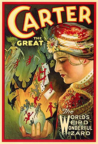 Carter Movie Poster - Carter The Great - Movie Poster - 11 x 17