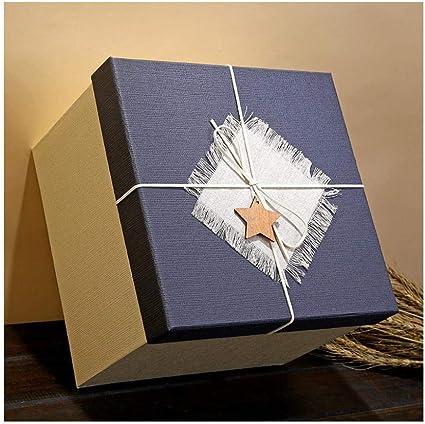 Caja de regalo cuadrada, caja de regalo de gran tamaño, caja de ...