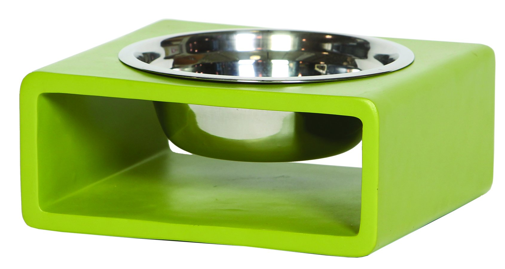 Unleashed Life Phorm Collection Bowl in Green, Medium