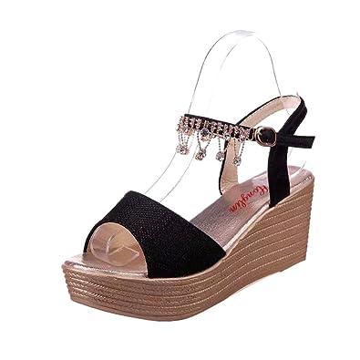 YUCH YUCH YUCH Ladies' Coole Stiefel Wasser Bohren High Heels und Dicken ... cd9289