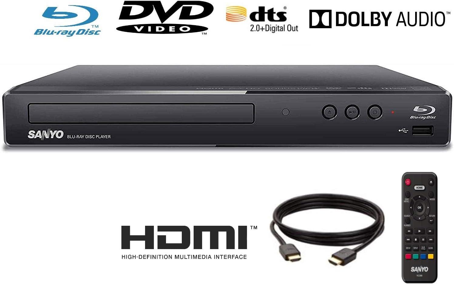 Sanyo FWBP505F - Cable HDMI para reproductor de Blu-ray (1,8 m): Amazon.es: Electrónica