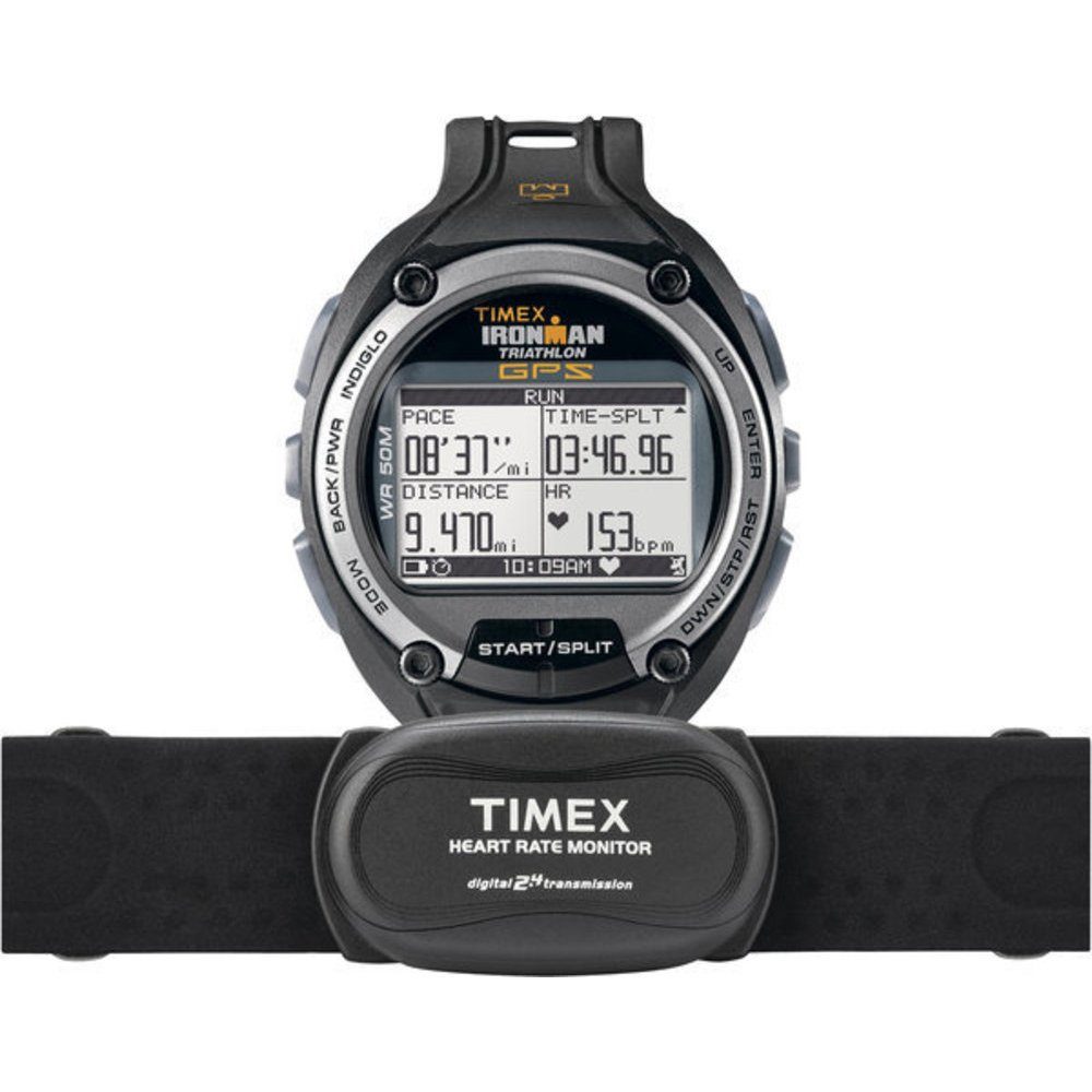 Timex Global Trainer Speed and Distance with Heart Rate GPS Watch by Timex