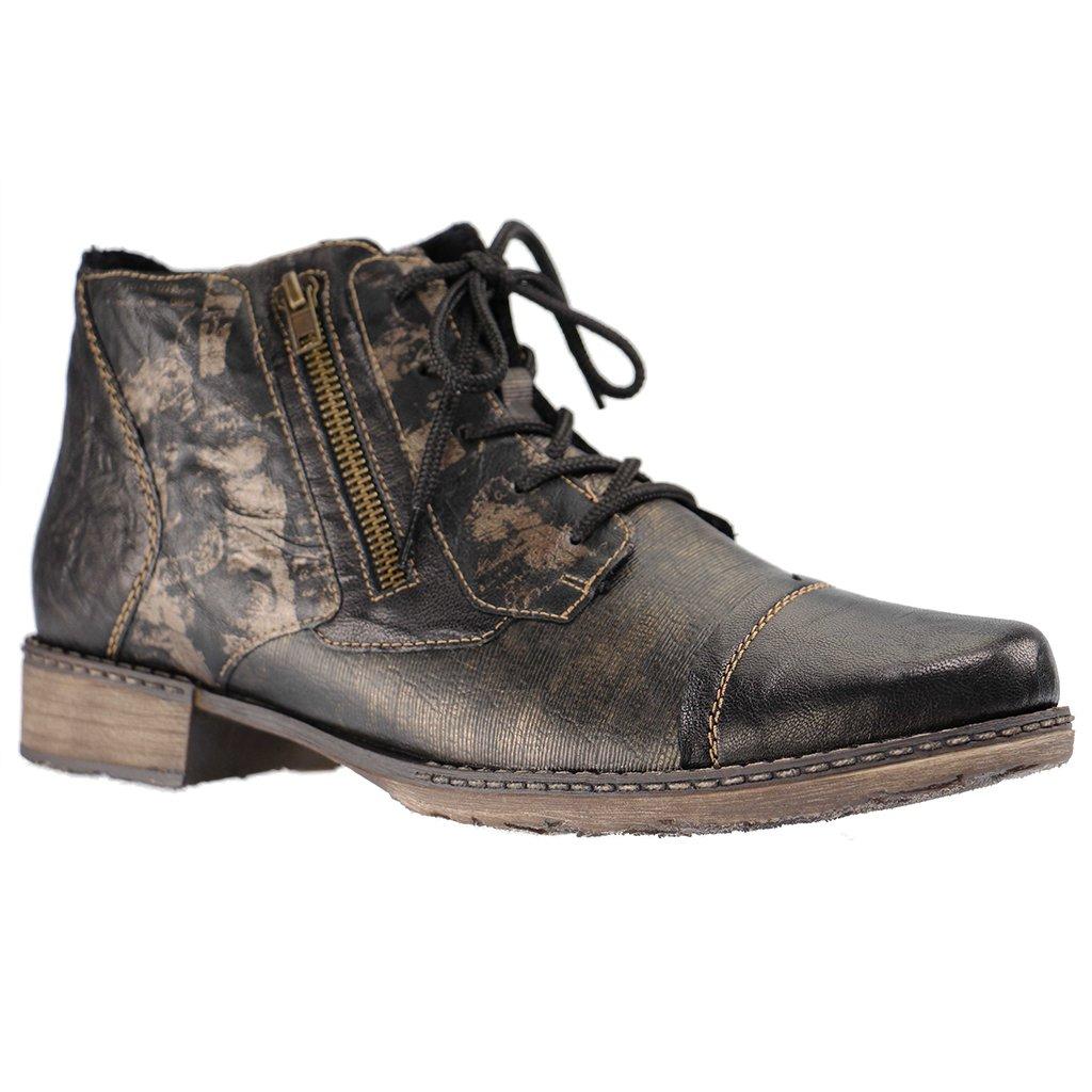 Remonte - Damen Stiefeletten - Schwarz Schuhe in Übergrößen