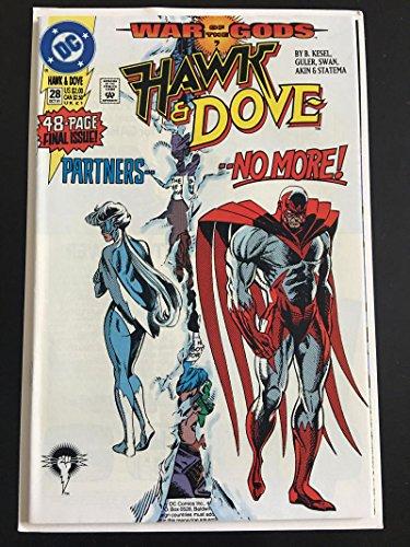 HAWK DOVE #28, VF/NM, Kesel, 1989 1991, DC Comics, Hank Hall, more in store