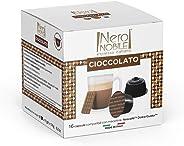 Cápsulas de Achocolatados Neronobile, Compatível com Dolce Gusto, Contém 16 Cápsulas
