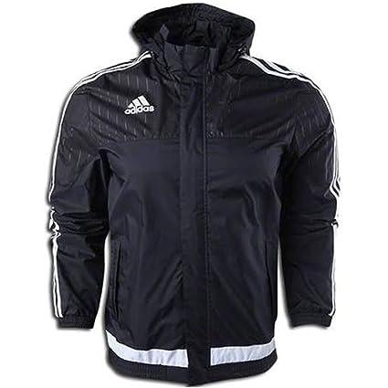 bd03e7e42 Amazon.com : Adidas Tiro 15 Rain Jacket- Seam Sealed : Sports & Outdoors