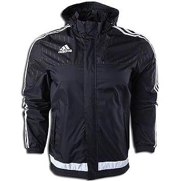 82b7b535de06 adidas Tiro 15 Rain Jacket Black XXL