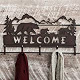 Cheap Bear Metal Art Rustic Wall Hooks – Wilderness Decor