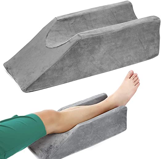 Washable Cover Foot Rest Leg Rest Cushion Foam Support Bed Wedge Pillow New