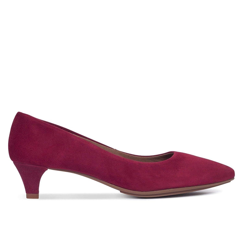 ¬Zapatos Salón. Zapatos Piel Mujer Hechos EN ESPAÑA. Zapatos Tacón Burdeos. Zapato Mimao. Zapatos Mujer Tacón. Zapatos Mujer Fiesta y Baile Latino. Zapato Cómodo Mujer con Plantilla Confort Gel