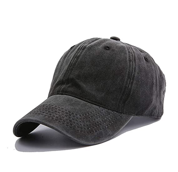 6577dd05755 Amazon.com  Eohak Kids Distresed-Washed Baseball Hat