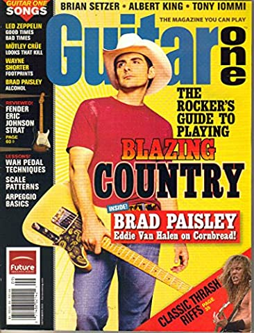 Guitar One Magazine (September 2005) (The Rocker's Guide to Playing Blazing Country + Brad Paisley + Eddie Van Halen on - Eric Johnson Fender Strat