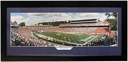 15-Inch by 35-Inch Encore Select 324-09 NCAA North Carolina Tar Heels 40-Yard Line Panoramic Frame