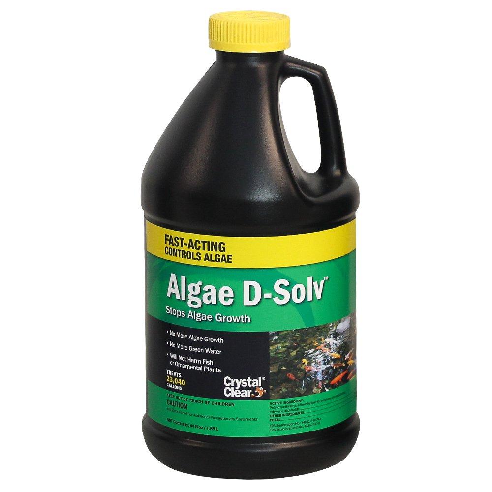 CrystalClear Algae D-Solv 64 oz by CrystalClear