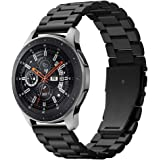 Spigen Samsung Galaxy Watch 46mm Modern Fit Band - Black - Compatible with Gear S3 Frontier / S3 Classic SmartWatch