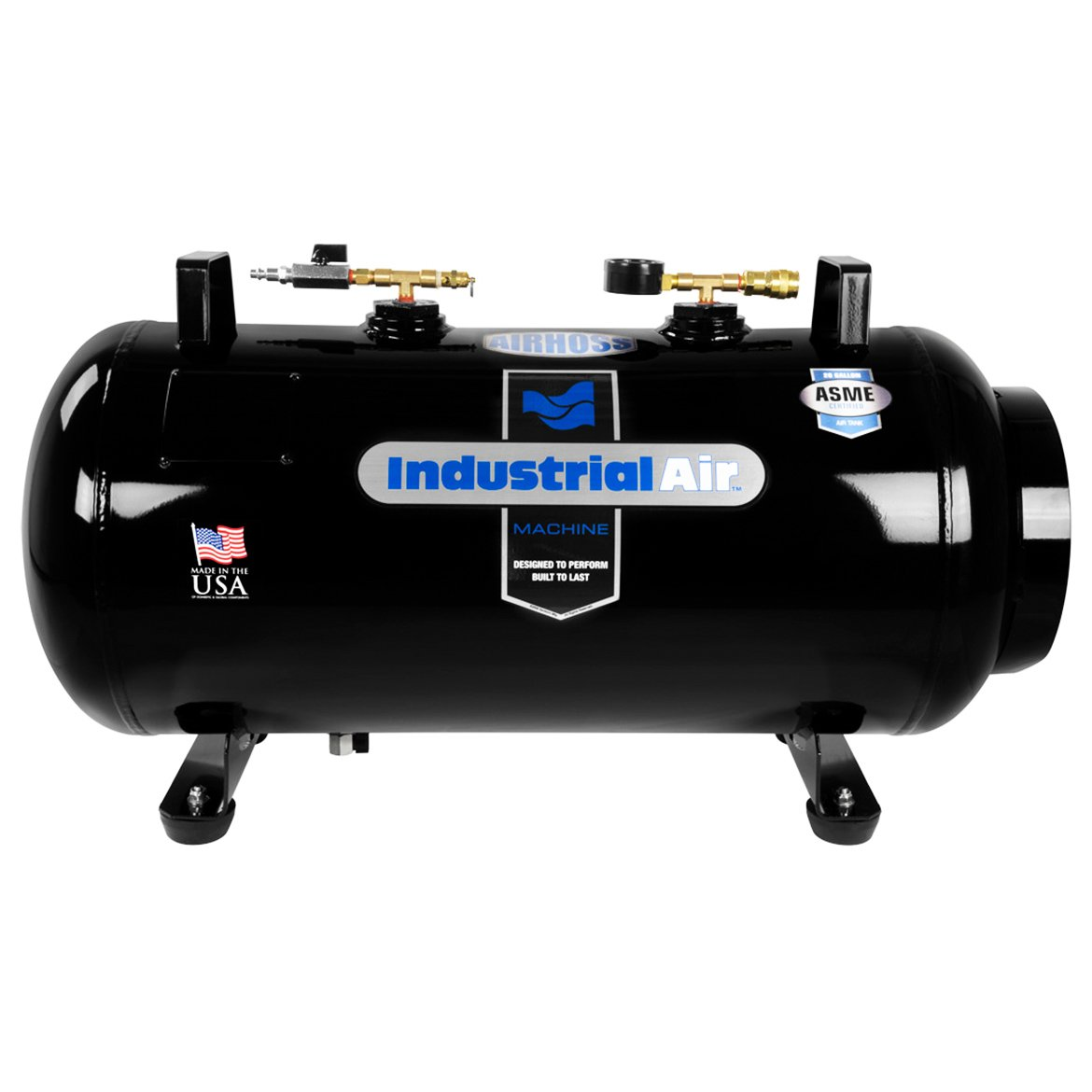 Industrial Air IT20ASME 20 gallon ASME Certified Vertical Horizontal Air Receiver Tank