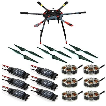 Amazon.com: Tarot X6 6-Axis Heavy Lift RC Muliticopter Hexacopter ...