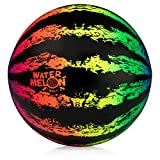 PlaSmart WB008 Watermelon Ball JR – Pool Toy - The Ball You Fill with Water, Dribble and Pass Under Water, Age 6 yrs and up