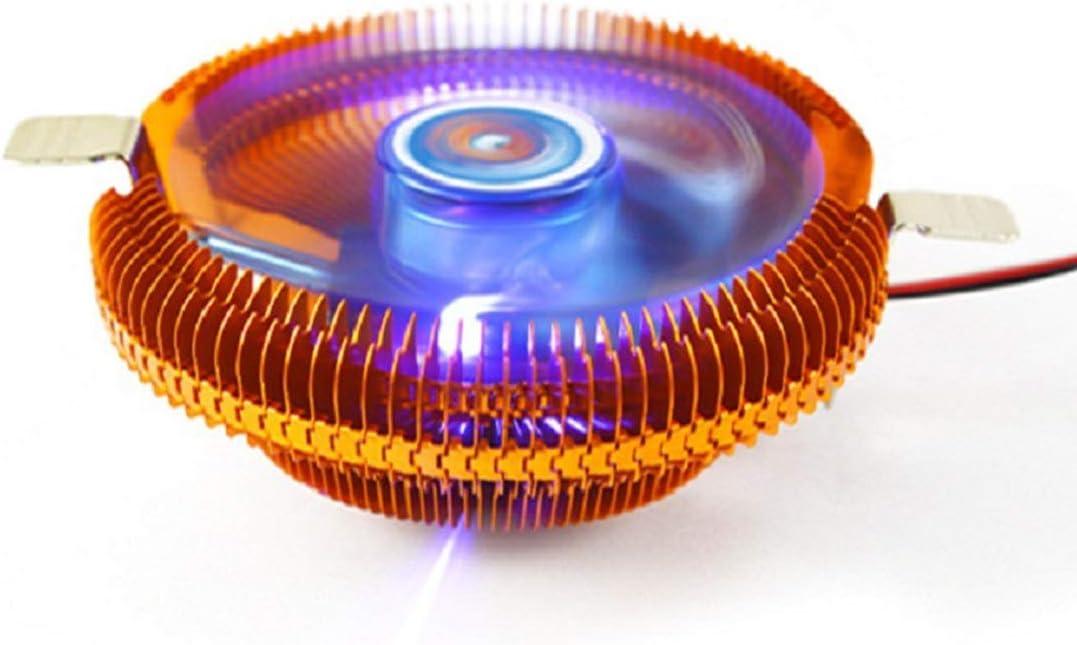 Hexiaoyi Luminous CPU Fan Multi-Platform CPU Radiator Copper