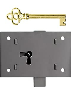 large polished steel nonmortise cabinet lock cabinet locks antique style