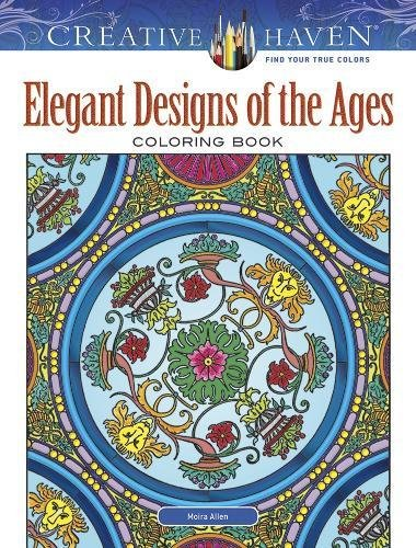 Creative Haven Elegant Designs of the Ages Coloring Book (Adult Coloring)