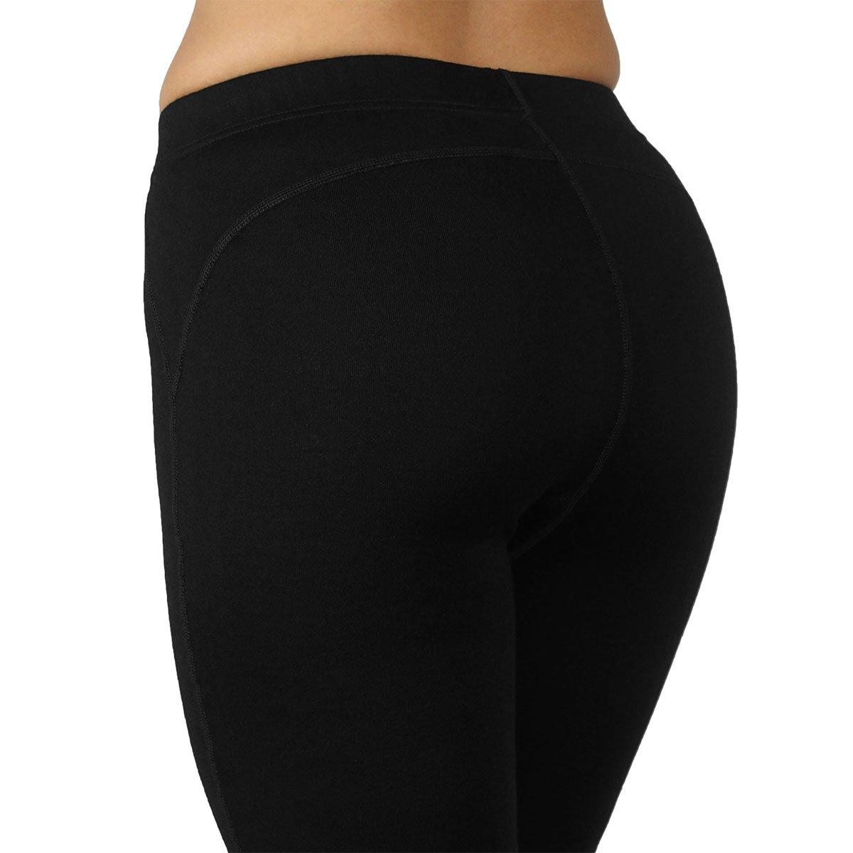 Minus33 Merino Wool 2300 Woolverino Women's Micro Weight Leggings Black Large by Minus33 Merino Wool (Image #7)