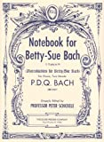 Notebook, P.D.Q Bach, 1598060139
