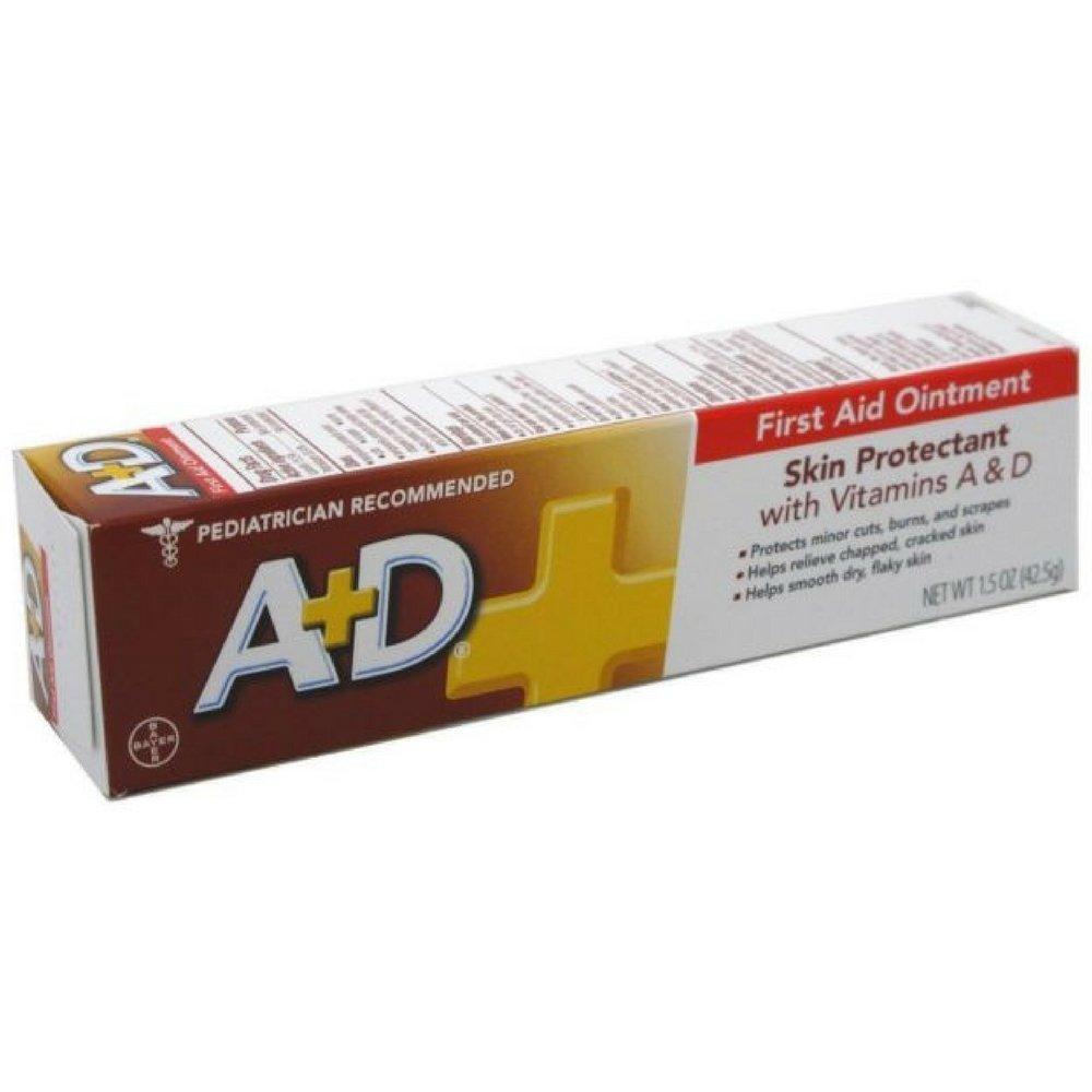 A+D First Aid Ointment 1.5oz (2 Pack) A&D usa-iiu-tm460