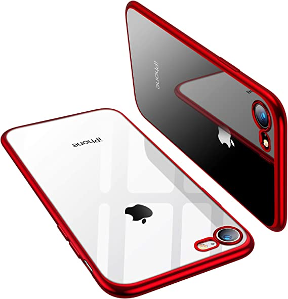 hand drawn fine line black and red fantasy iPhone 11 case
