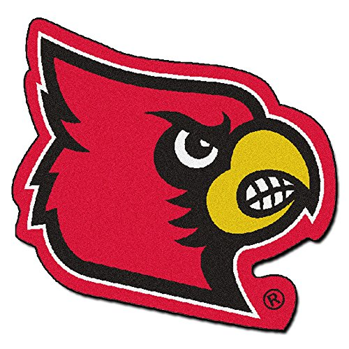 - Fan Mats Louisville Cardinals Mascot Area Rug