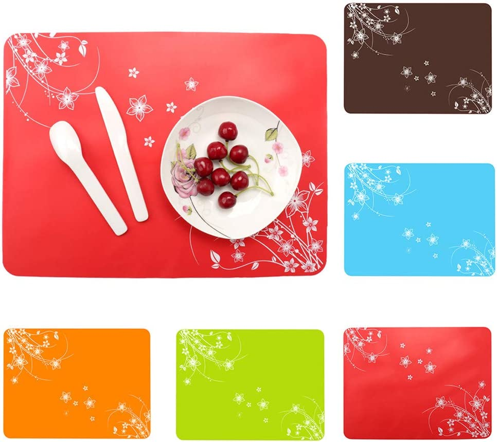 Mioloe Silicone Baking Mat Non-Stick Rolling Pastry Mat Fondant Dough Cookies Cake Sugar Craft Bread Making