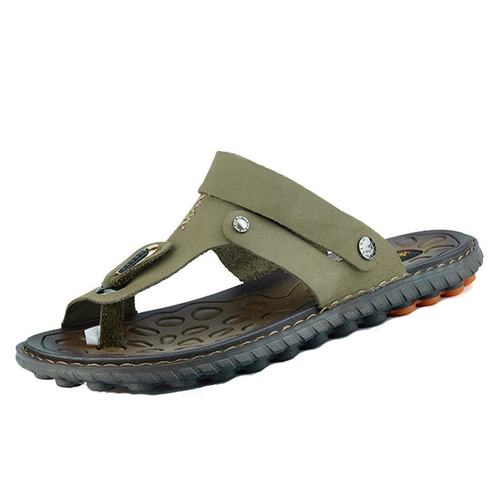 Insun Zapatillas Sandalias Temporada De Verano Hombre Antideslizante Zapatos De Playa 40 EU|Marrón 2