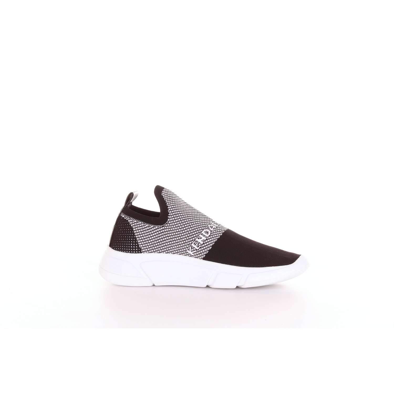 KENDALL + KYLIE Slip kkCALEB2-B schwarz Fabric Taglia 37 - Farbee Farbee - schwarz Bianco d6f6a4