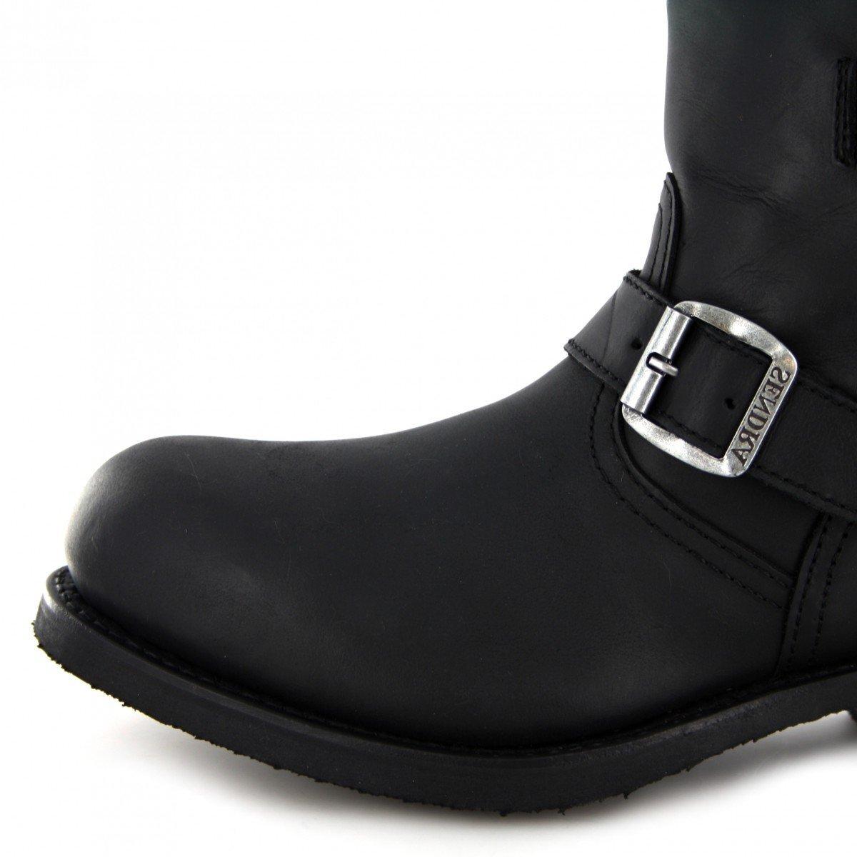 Sendra Boots 11973 Isolierung Negro Engineerstiefelette mit Thinsulate Isolierung 11973 und Stahlkappe für Damen und Herren Schwarz Schwarz f00d67
