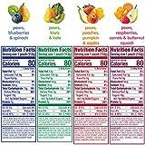 Happy Tot Organic Stage 4 Fiber & Protein 4 Flavor