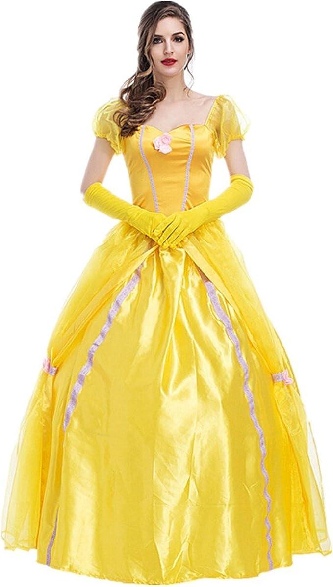 Disfraz de Princesa Para Mujer Cosplay Vestido Halloween Carnaval ...