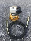 Cormac 6.5Hp gas mount base concrete vibrator with 20ft hose & 1 3/4'' head