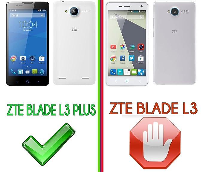 Funda de Gel Silicona para ZTE Blade L3 PLUS (5