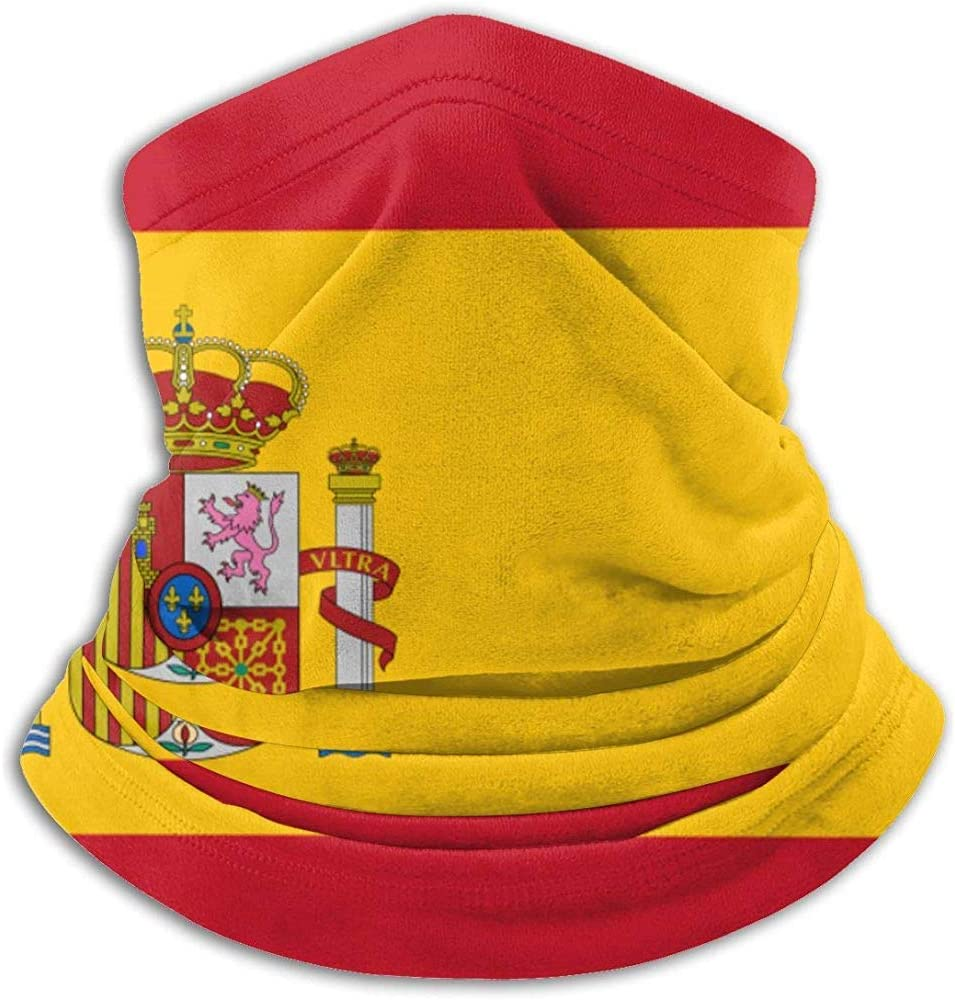 Olive Helin(a) Polaina con Cuello de Bandera de España, Sombreros, mascarilla Facial, Bufanda mágica, pañuelo, pasamontañas, Diadema: Amazon.es: Deportes y aire libre
