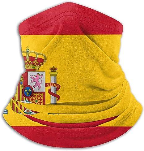 Polaina con Cuello de Bandera de España, Sombreros, mascarilla Facial, Bufanda mágica, pañuelo, pasamontañas, Diadema: Amazon.es: Deportes y aire libre