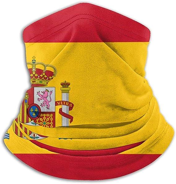C-WANG Polaina con Cuello de Bandera de España, Sombreros, mascarilla Facial, Bufanda mágica, pañuelo, pasamontañasva, Skateboarding: Amazon.es: Deportes y aire libre