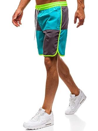 1dbd978c2d0786 BOLF Herren Kurze Hose Badeshorts Badehose Kordelzug Motiv Sport Style 7G7   Amazon.de  Bekleidung