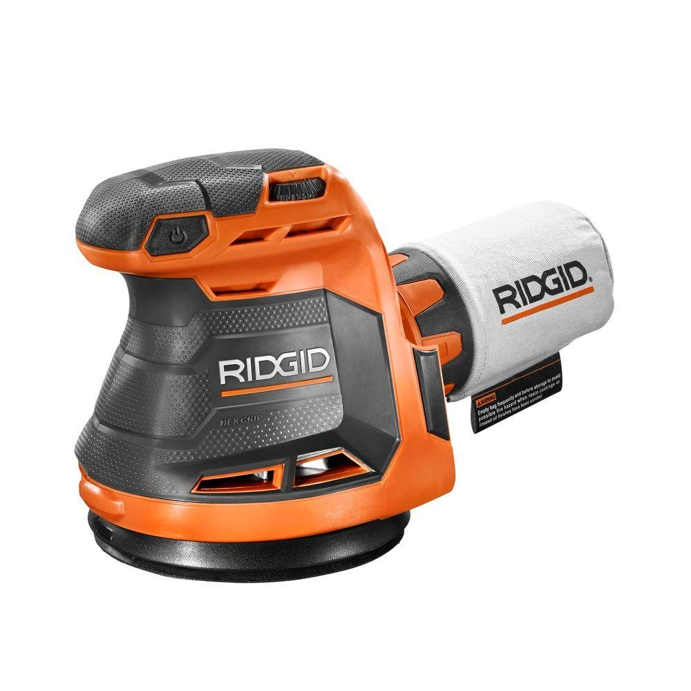 Ridgid R8606B GEN5X 18-Volt 5 in. Cordless Random Orbit Sander (Tool-Only, Battery and Charger NOT Included) by Ridgid (Image #1)