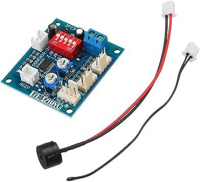 DC 12V Termostato de cuatro cables PWM PC CPU Ventilador Control ...