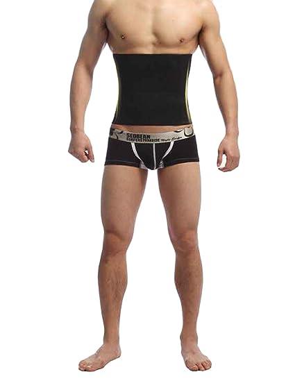 3753d56844b44 Image Unavailable. Image not available for. Color  Eshion Men Shapewear Fat  Slim Belt Tummy Cincher Corset ...