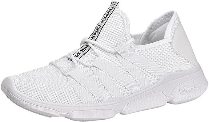 Zapatillas de Deporte de Malla para Hombre, de la Marca Scenxion para Correr, de Moda, de Malla, para Gimnasio, Deportes, Fitness, Entrenamiento Cruzado, para Caminar: Amazon.es: Zapatos y complementos