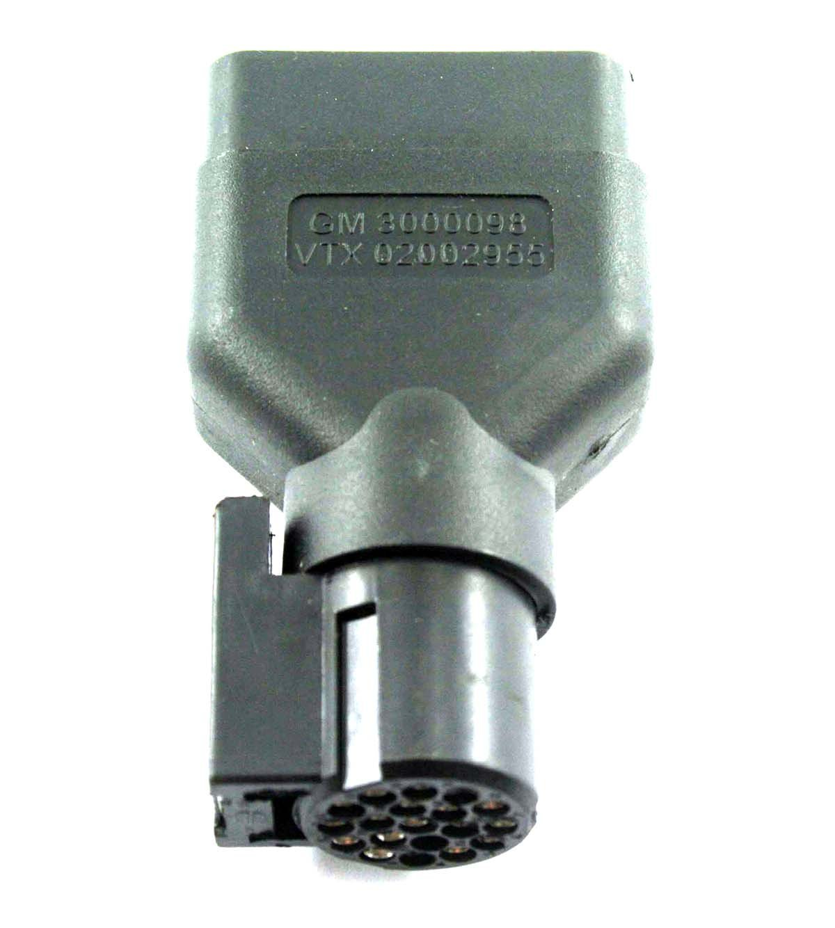 New GM TECH 2 Scanner OBD2 OBDII Adapter Connector GM 3000098 VETRONIX VTX 02002955