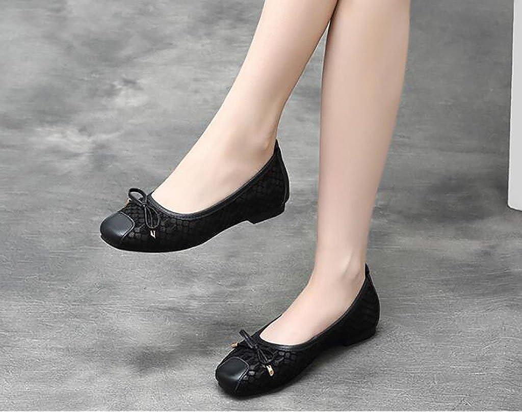 Einzelne Schuhe Frauen, Bequeme Rutschfeste Bequeme Frauen, Schuhe, Faule Schuhe, Damenschuhe, Flache Unterseite Weichen Boden Schuhe B 03430d